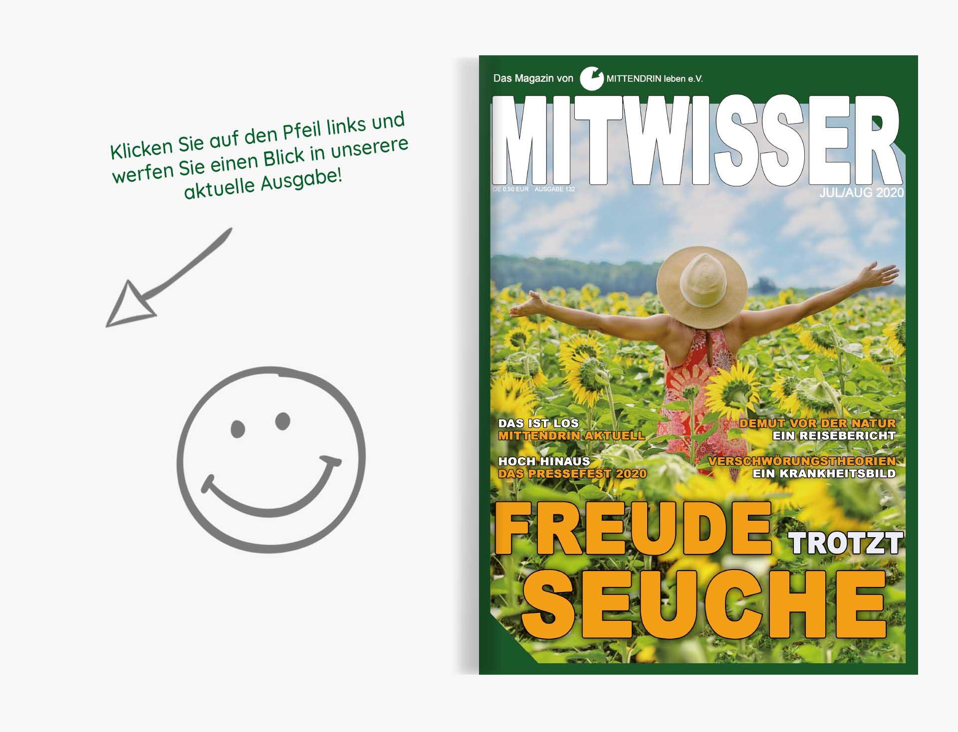Mitwisser 132 Cover Grafik Aktuelle Ausgabe