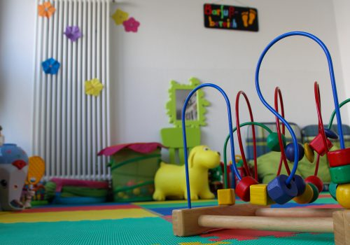 Spielecke im Kindercafé